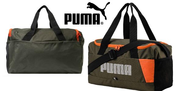 Bolsa deportiva Puma Fundamentals XS II Forest Night barata en Amazon