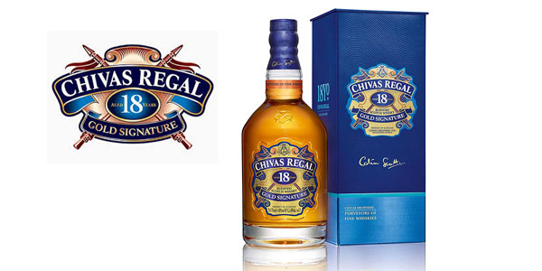 Botella Whisky Chivas Regal Golden Signature18 Años barata en Amazon