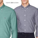 Camisa Tommy Hilfiger Sandwashed Oxford para hombre barata en Amazon