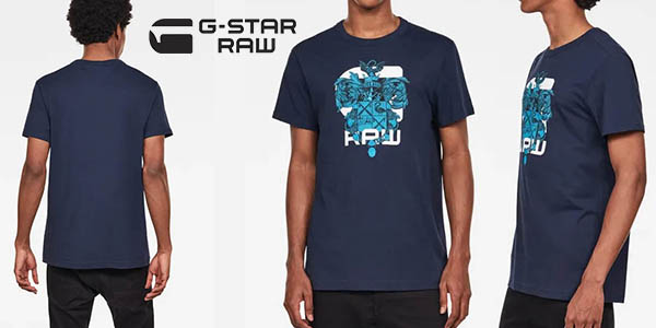 camiseta G-Star Raw Graphic 9 barata