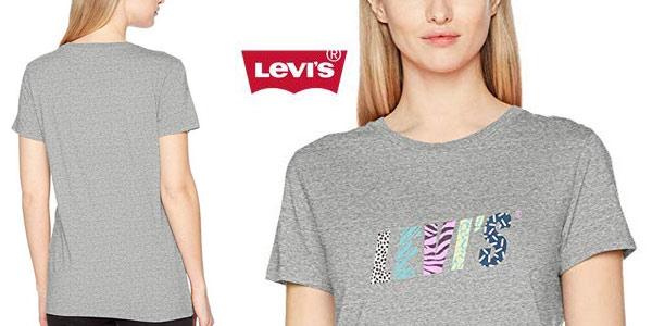 Camiseta manga corta Levi's the Perfect Tee para mujer barata en Amazon