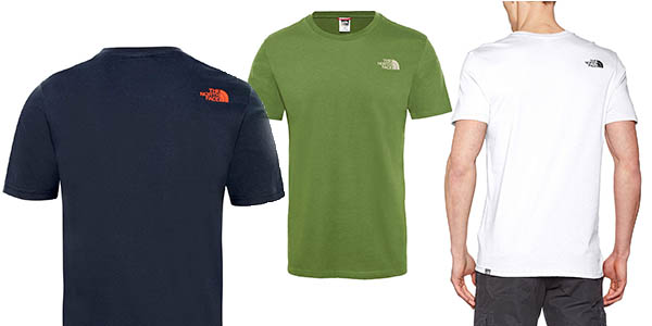 camiseta de manga corta The North Face oferta