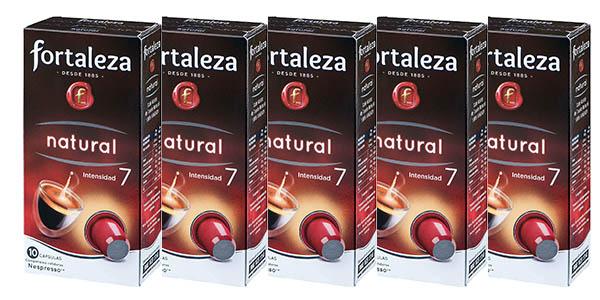 cápsulas de café Fortaleza Natural baratas