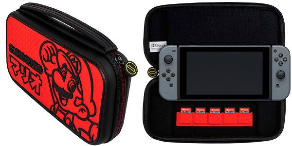 Estuche PDP Deluxe Edición Mario Kana para Nintendo Switch en oferta