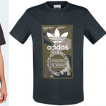 Chollo Camiseta Adidas Camouflage Tongue Label para hombre