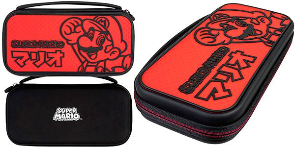 Chollo Estuche PDP Deluxe Edición Mario Kana para Nintendo Switch