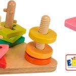 Chollo Juguete Eduplay de encajar piezas para bebés