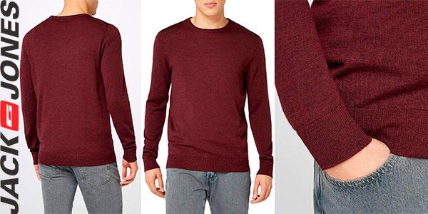 Chollo Suéter Jack & Jones Mark Knit Crew de lana para hombre