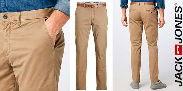 Chollo Pantalones chinos Jack & Jones Cody Spencer para hombre