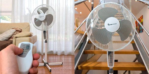 Chollo Ventilador de pie Astan Hogar Capri de 45 W