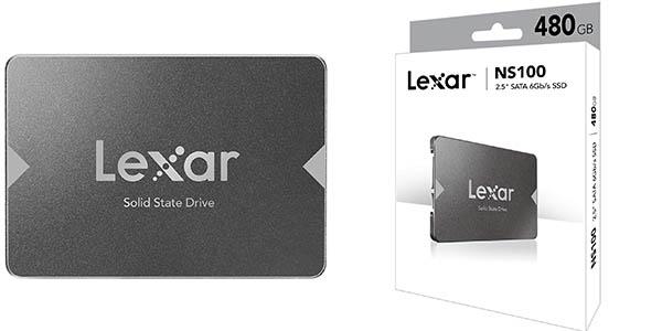 Disco SSD Lexar NS100 de 480 GB