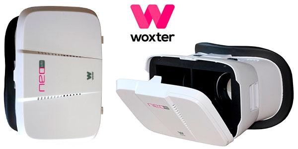 Gafas de realidad virtual Woxter Neo VR1 White para smartphones baratas