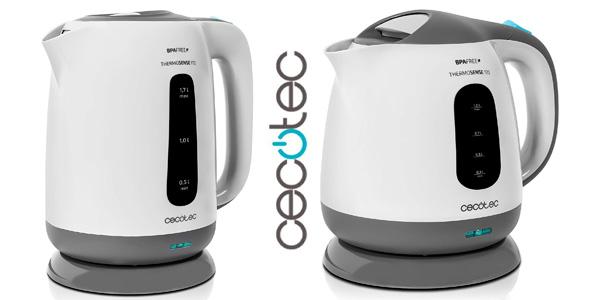 Comprar hervidor eléctrico Cecotec ThermoSense barato en Amazon