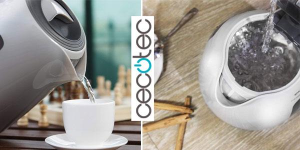 Comprar hervidor eléctrico Cecotec ThermoSense chollo en Amazon