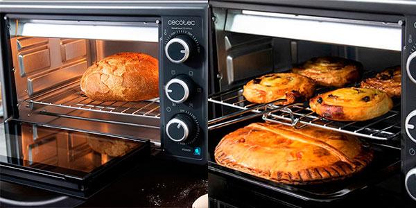 Horno de convección Cecotec Bake'n Toast 570 4Pizza de 1.500 W barato