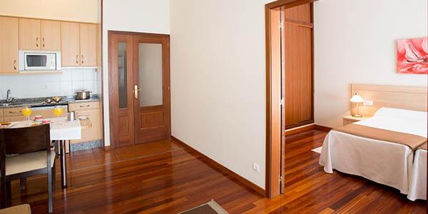 hotel apartamento Debalda Pontevedra a precio de chollo