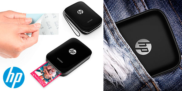 Impresora instantánea HP Sprocket portátil con Bluetooth barata