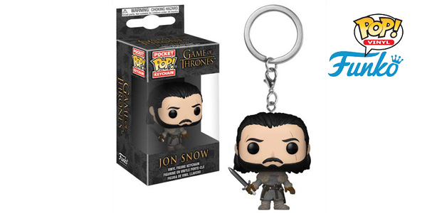 Llavero Jon Snow Funko POP! Beyond the Wall barato en Amazon