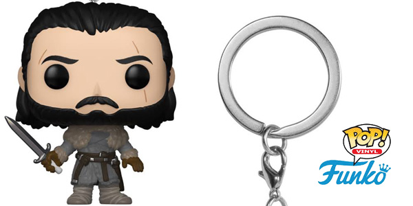 Llavero Jon Snow Funko POP! Beyond the Wall chollo en Amazon