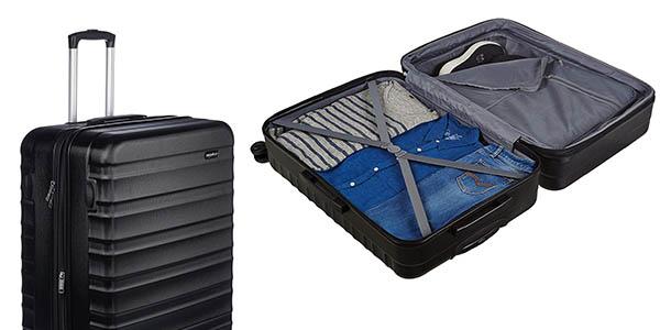 maleta rígida AmazonBasics relación calidad-precio estupenda