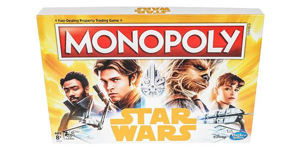 Monopoly Star Wars Hans Solo juego de mesa chollo