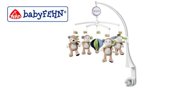 Monkey Donkey Fehn Móvil de Cuna Musical diseño de Monos