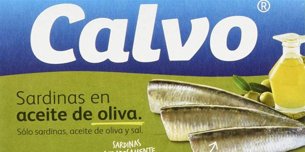 Pack de 10 latas de sardinas en aceite de oliva Calvo al mejor precio en Amazon