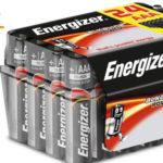 Pack x 24 pilas alcalinas Energizer E92 AAA barato en Amazon
