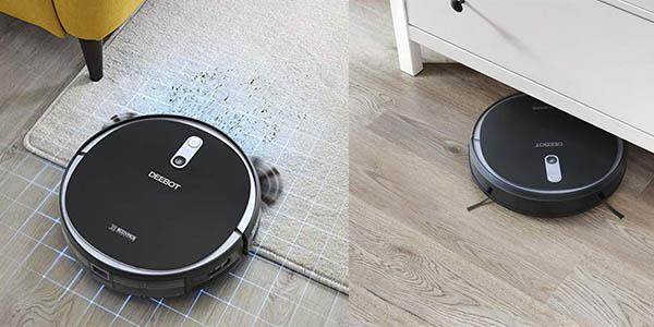 robot inteligente Ecovacs Deebot 715 con función fregona oferta