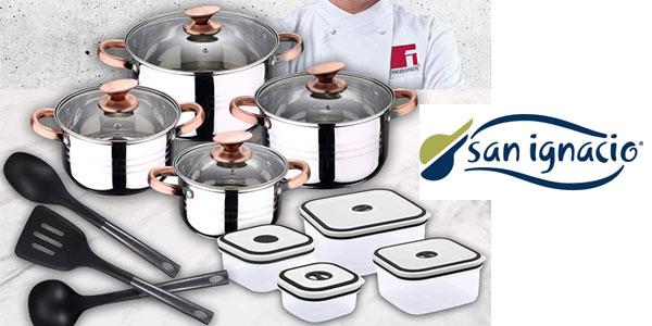 Set 8 piezas San Ignacio Premium color cobre barato Amazon