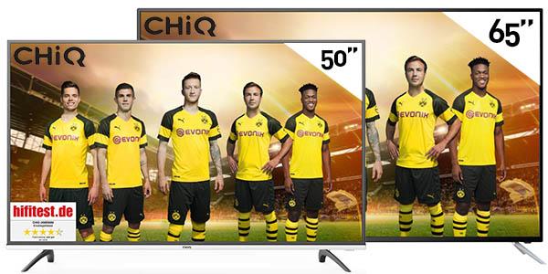 Smart TVs UHD 4k Chiq al mejor precio