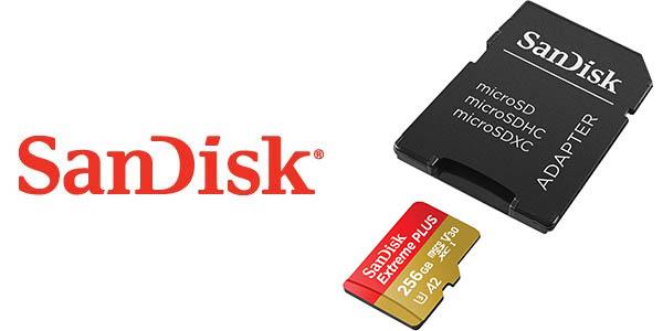 SanDisk Extreme PLUS de 256 GB barata