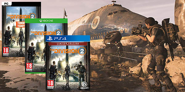 The Division 2 para PS4, Xbox One y PC Uplay