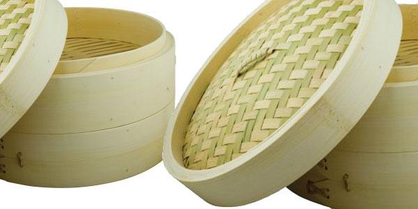 Vaporera bambú Swift Spice Set de 25 cm chollo en Amazon