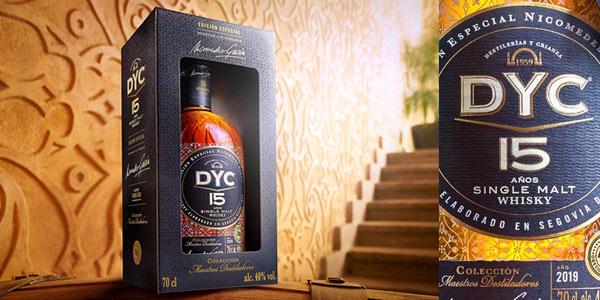 Whisky DYC 15 años edición especial 60 aniversario en oferta en Amazon