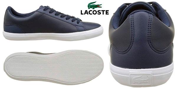 3a724113 Chollo Zapatillas de piel Lacoste Lerond para hombre por sólo 41,99 ...