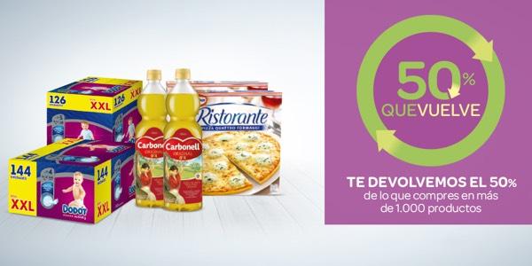 Carrefour 50 que vuelve agosto 2019