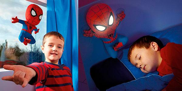 Peluche de Spiderman con luz quitamiedos barato