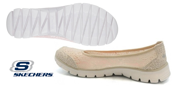 Bailarinas Skechers Ez Flex 3.0-Beautify para mujer chollazo en Amazon
