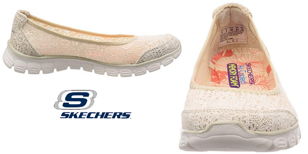 Bailarinas Skechers Ez Flex 3.0-Beautify para mujer chollo en Amazon