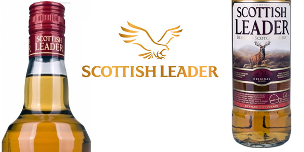 Botella Scottish Leader Blended Scotch Whisky de 700 ml barata en Amazon