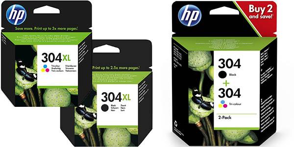 Cartuchos HP 304 y HP 304XL