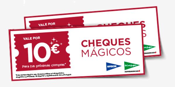 Cheques Mágicos El Corte Inglés