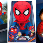 Chollo Peluche de Spiderman con luz quitamiedos
