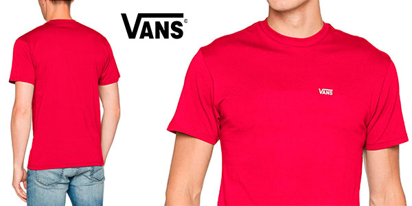 Chollo Camiseta Vans Left Chest Logo para hombre