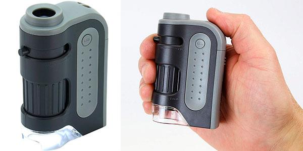 Chollo Microscopio Carson MicroBrite Plus MM-300 LED de 60x-120x aumentos