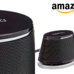 Chollo Set de 4 pares de altavoces AmazonBasics USB para ordenador