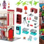 Cuartel Parque de Bomberos Ghostbusters de Playmobil con 5 figuras rebajado