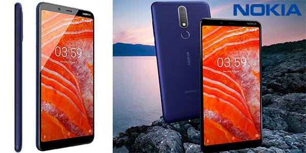 """Chollo Smartphone Nokia 3.1 Plus de 6"""" con Android One, 3 GB RAM y cámara dual al mejor precio"""