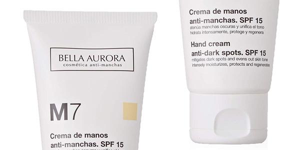 Crema de Manos Anti-Manchas Bella Aurora M7 con SPF 15 chollazo en Amazon